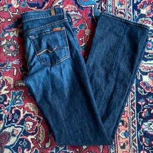 7 for all mankind • bootcut jeans